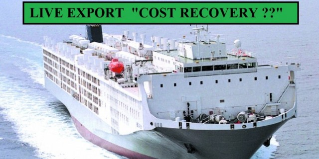 """Cost recovery implementation statement Live Export"""