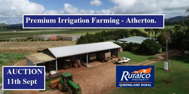 Premium Irrigation  Farming - Atherton.