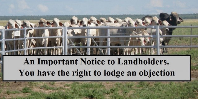An Important Notice to Landholders.