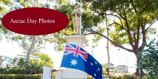 People  commemorate this year's Anzac Day,