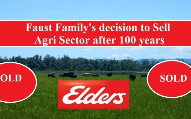 Faust Family's decision to sell Agri Sector after 100 years