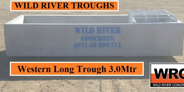 Wild River Concrete Troughs