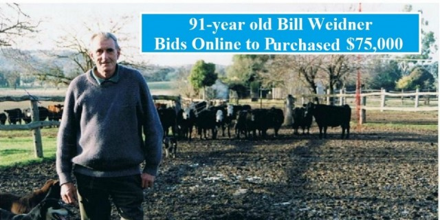 Age is no barrier to online bidding